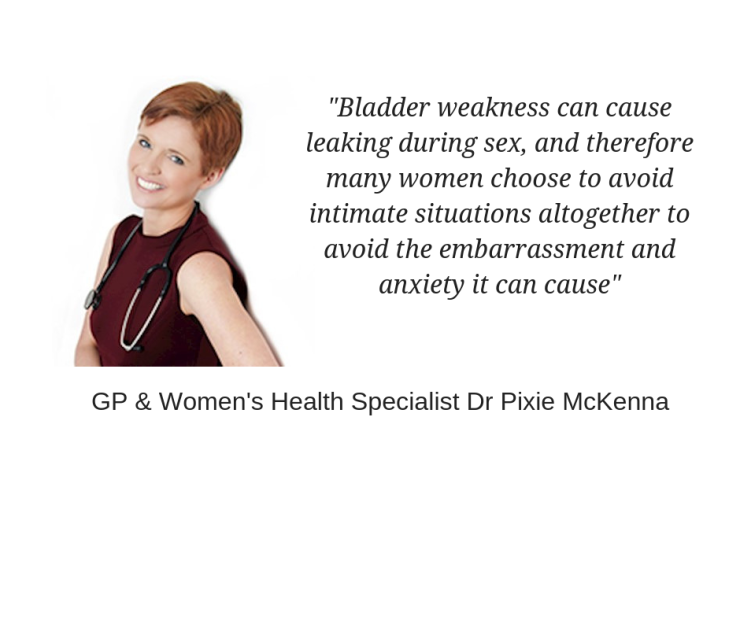 bladder weakness, weak pelvic floor